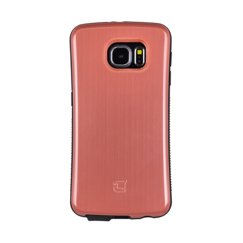 Caseco Fitted Hard Shell Case for Samsung Galaxy S6 - Metallic Marsala