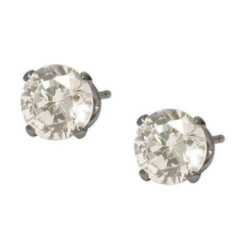 6mm SWAROVSKI Elements White Crystal Stud Earrings   Earrings - Best Buy  Canada c84a630978