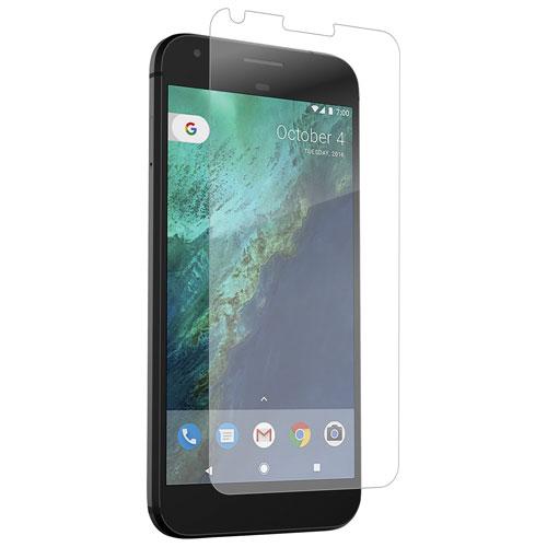 InvisibleShield by ZAGG Glass+ Google Pixel Front Screen Protector