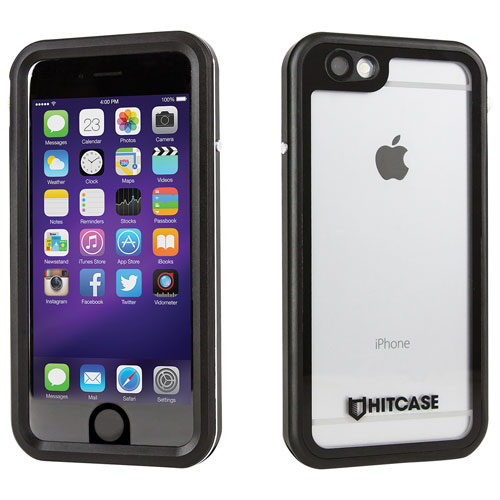 Hitcase iPhone 6/6s Fitted Hard Shell Case - Black