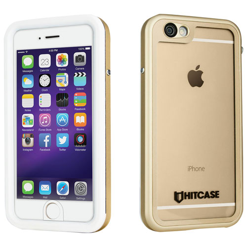 Hitcase iPhone 6/6s Fitted Hard Shell Case - Gold