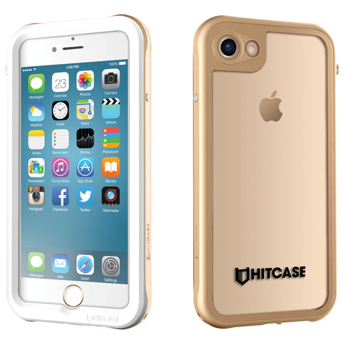 Hitcase iPhone 7/8 Fitted Hard Shell Case - Gold