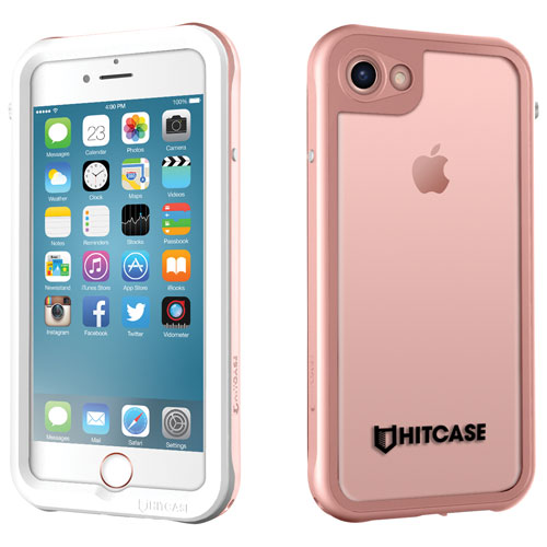 Hitcase iPhone 7/8 Fitted Hard Shell Case - Rose Gold