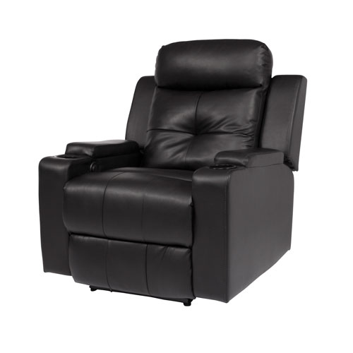 fauteuil inclinable lectrique en cuir reconstitu. Black Bedroom Furniture Sets. Home Design Ideas