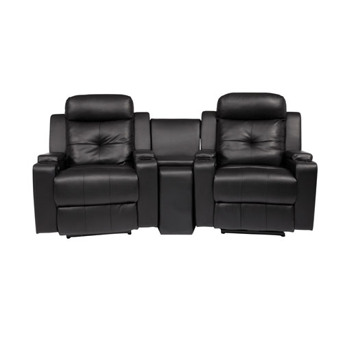 Broadway 2-Seat Bonded Leather Power Recliner Home Theatre Seating with Console - Black  Home Theatre Seating - Best Buy Canada  sc 1 st  Best Buy Canada & Broadway 2-Seat Bonded Leather Power Recliner Home Theatre Seating ... islam-shia.org