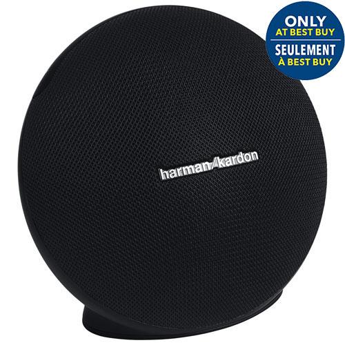 Haut-parleur portatif sans fil Bluetooth Onyx Mini de Harman Kardon - Noir - Exclusivité Best Buy