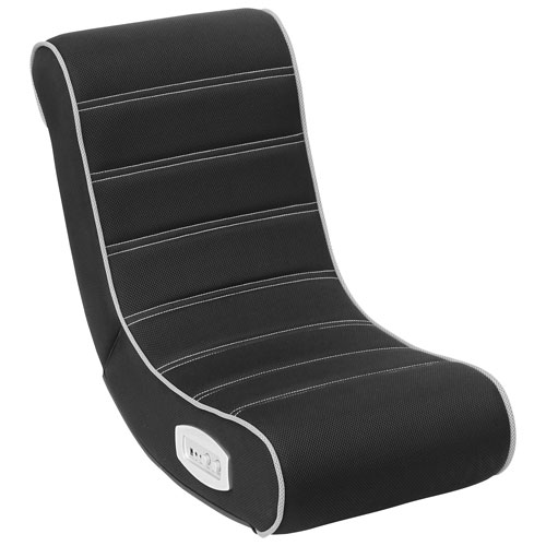 Rock-Gamer 2.0 Audio Youth Gaming Chair - Black/Grey