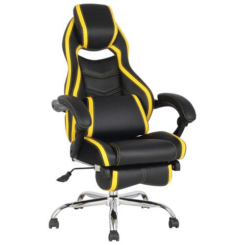 TygerClaw High Back Executive Chair - Black