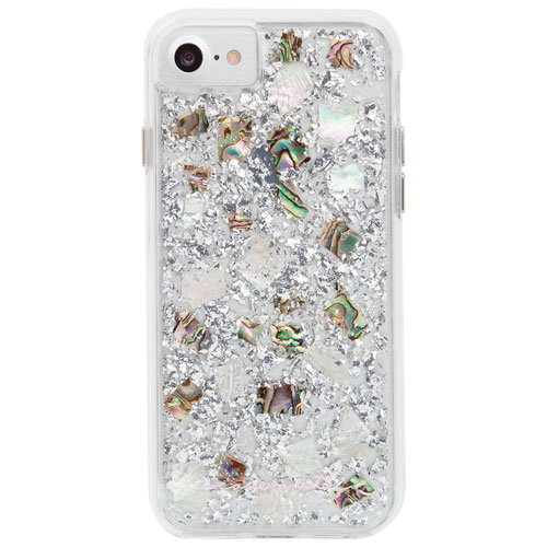 Étui rigide ajusté Karat de Case-Mate pour iPhone 7 ou 8 - Perle