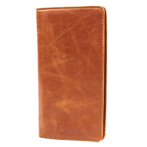 Caseco Fone Wallet - Universal Smartphone Wallet Case - Brown