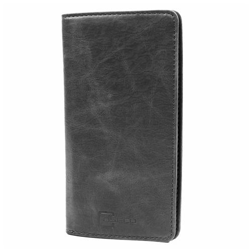 Caseco Fone Wallet - Universal Smartphone Wallet Case - Black