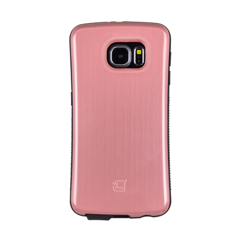 Caseco Galaxy S6 Shock Express Case - Metallic Strawberry Ice