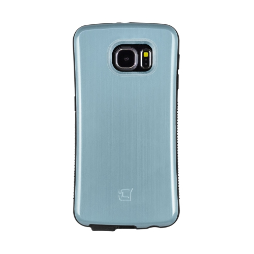 Caseco Galaxy S6 Shock Express Case - Metallic Light Blue