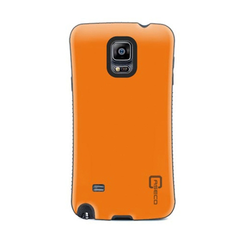 Caseco Fitted Hard Shell Case for Samsung Galaxy Note 4 - Orange