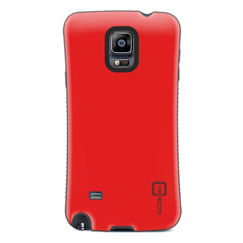 Caseco Galaxy Note 4 Shock Express Case - Red