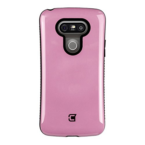 Caseco Fitted Hard Shell Case for LG G5 - Pink
