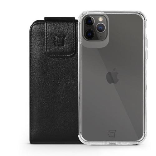 Caseco iPhone 7 Plus /6S Plus Large Faux Leather Vertical Pouch with Belt Clip