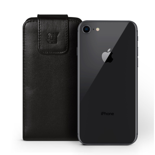 Caseco iPhone 7 Plus /6S Plus Extra Large Faux Leather Vertical Pouch