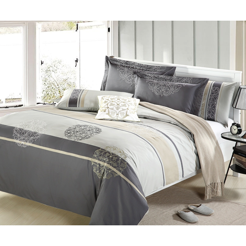 Arista 7-Piece Duvet Cover Set