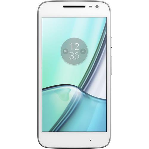 Téléphone intelligent Moto G4 Play 16 Go de Motorola - Blanc - Déverrouillé - certifié remis à neuf