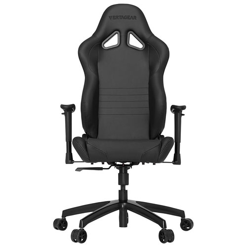 Vertagear S-Line Ergonomic Faux Leather Racing Gaming Chair - Black/Carbon