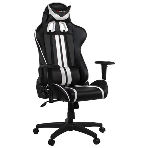 Arozzi Mezzo Ergonomic Racing Gaming Chair - White