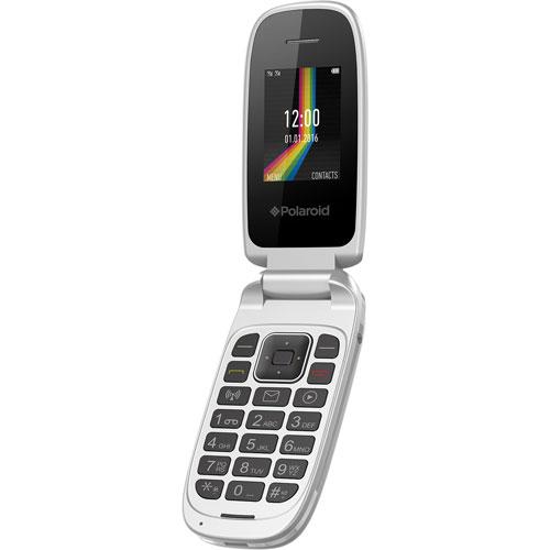 Polaroid LINK A2 Flip Phone - White - Unlocked