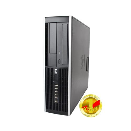 HP Elite 8200, Intel i3-2100-3.0 GHz, 4GB Memory, 250GB HDD, DVDRW, Windows 10 Home (French/English), 1YW - Refurbished