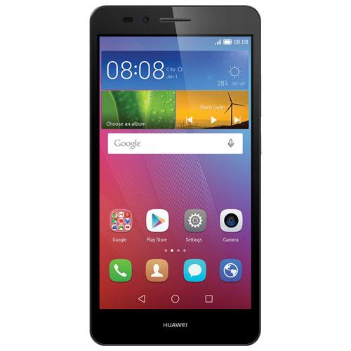 Téléphone intelligent GR5 de Huawei de 16 Go offert par Fido - Gris - Entente de 2 ans