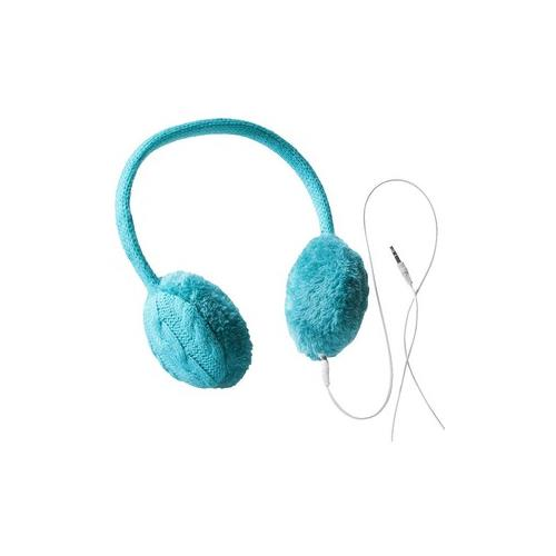 Chatties Earmuffs w/ Built-in Headphones, Blue