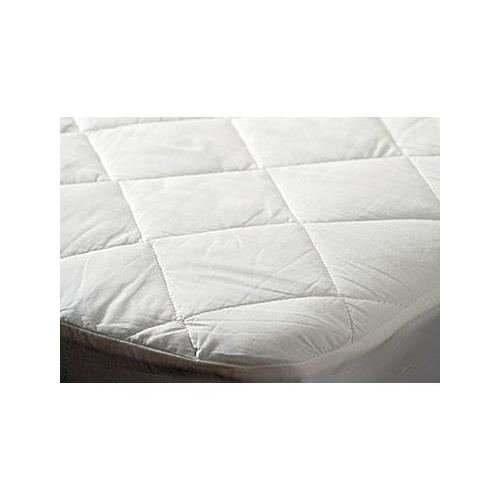 "Bedroom Basics Ultrasonic Threadless Quilted Mattress Pad w/ Deep 18"" Pockets - Queen"