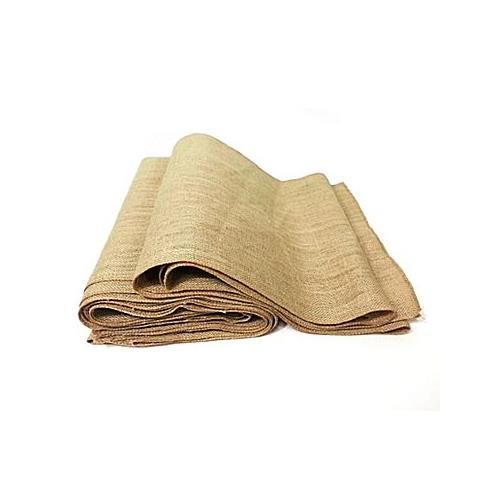 "Nusso Rectangular Burlap Tablecloth 14""x108"""