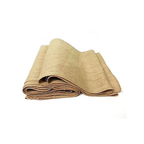 "Nusso Rectangular Burlap Tablecloth 14""x120"""