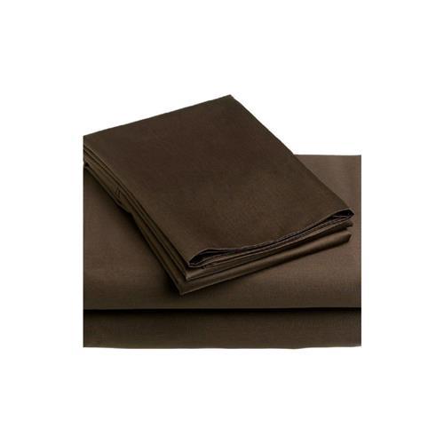 Royal Elegance 100% Combed PIMA Cotton Sheet Set, 320 Threadcount , King, Brown