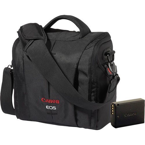 Canon T5/T6 Battery Pack and DSLR Camera Bag Bundle : DSLR Cases ...