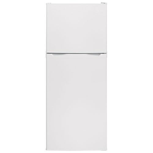 Réfrigérateur à congélateur supérieur 11,55 pi3 24 po de Moffat (MPE12FGKWW) - Blanc