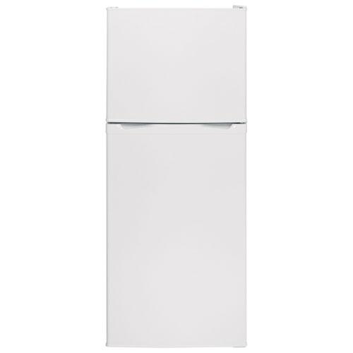 "Moffat 24"" 11.55 Cu. Ft. Top Freezer Refrigerator (MPE12FGKLWW) - White"