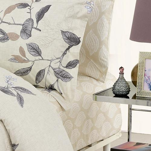 North Home Ashford 100% Cotton 4pc Sheet Set (Queen)