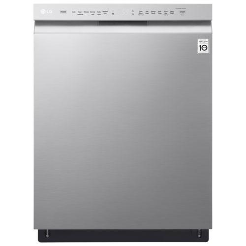 Lave-vaisselle encastrable grande capacité 24 po 48 dB à cuve acier inoxydable (LDF5545ST)- Inox