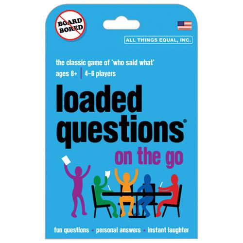 Jeu de société Loaded Questions On The Go