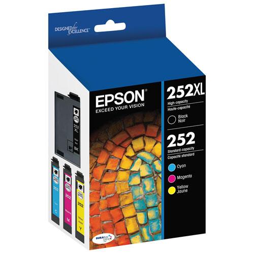 Epson 252 CMYK Ink (T252XL-BCS) - 4 Pack