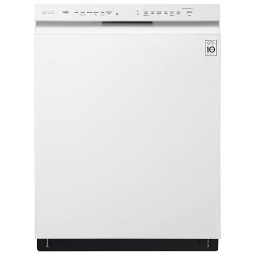 "LG 24"" 48dB Dishwasher with Stainless Steel Tub (LDF5545WW) - White"