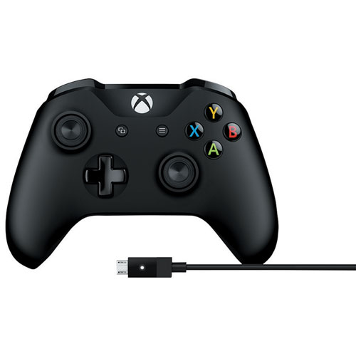 Xbox One Wired PC Controller (4N6-00001) - Black