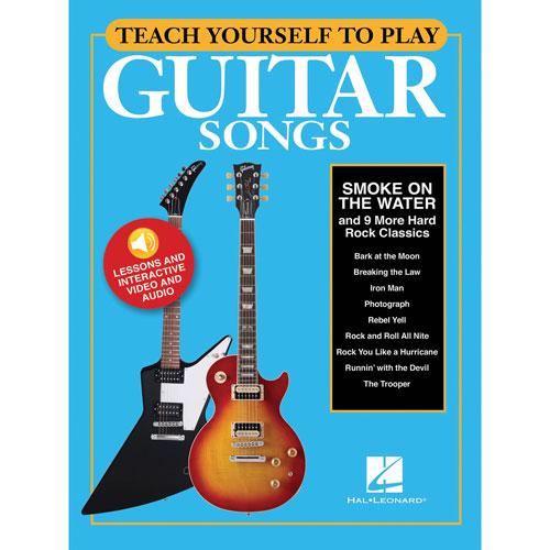 Recueil de partitions Teach Yourself to Play Guitar Songs de Hal Leonard - Hard rock