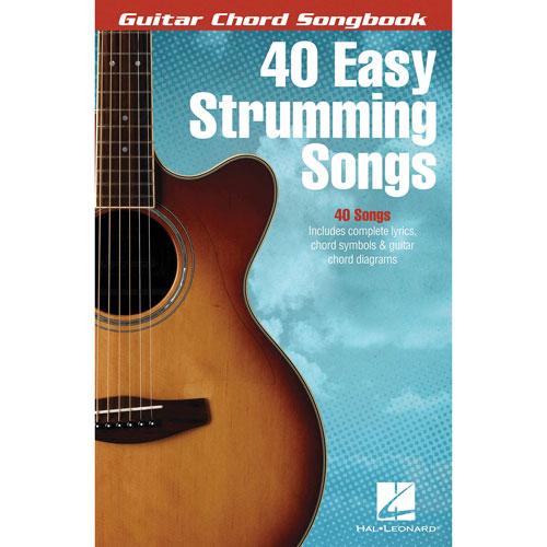 Livre de partitions Guitar Chord Songbook: 40 Easy Strumming Songs de Hal Leonard