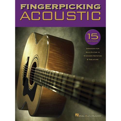 Hal Leonard Fingerpicking Acoustic Guitar Music Book