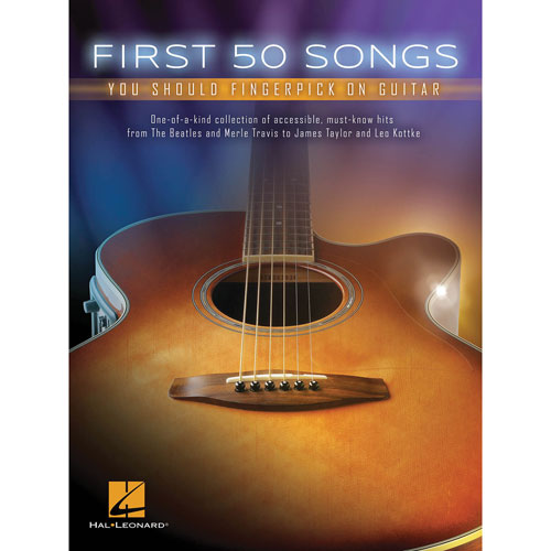Hal Leonard First 50 Songs: You Should Fingerpick On Guitar Sheet Music