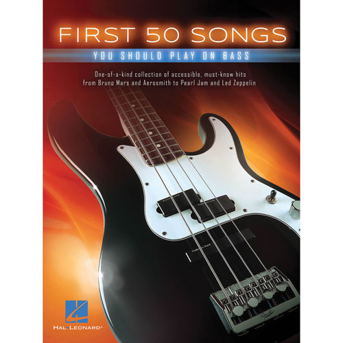 Hal Leonard First 50 Songs: You Should Play On Bass Sheet Music