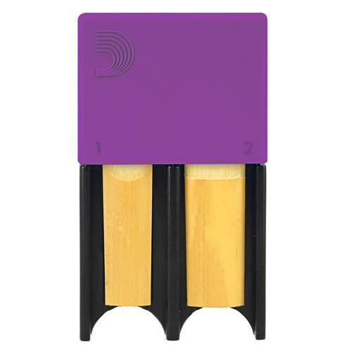 D'Addario Reed Guard - Large, Purple