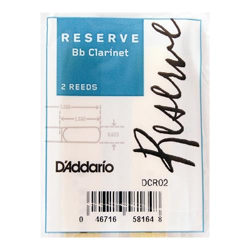 Reserve Bb Clarinet Reeds - #3.5+, 2 Pack